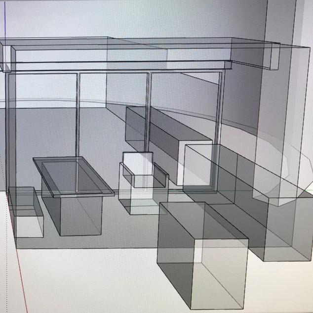 Study using SketchUp program