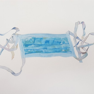 The new must have accessory Gouache on paper