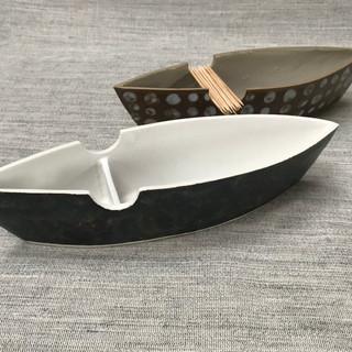 Olive Boat Porcelain, £30 / £35 Please email or text Siglint Kessler 07730871780