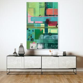 Agriculture Acrylic on canvas 90cm x 60cm £165.00