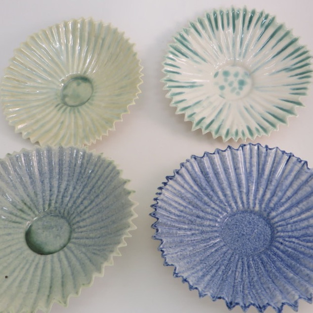 Concertina dishes