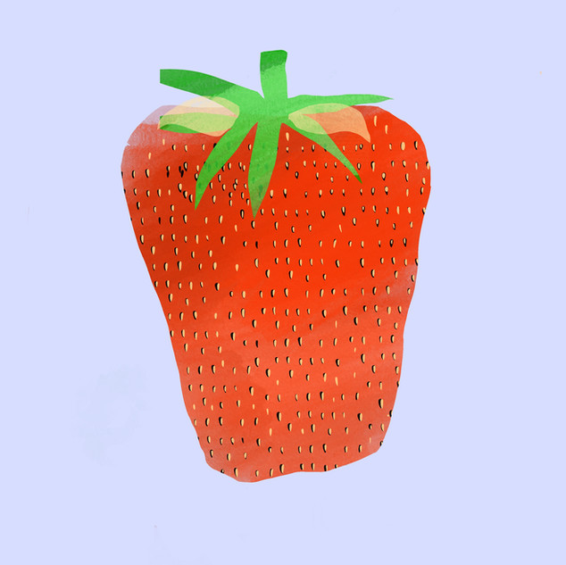 Strawberry A3 print on superior matte paper. £25 Printing options available.