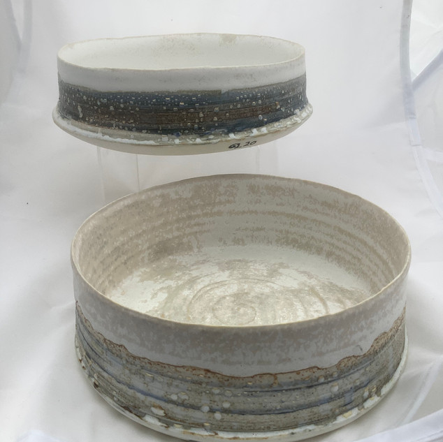 Two fruit bowls
