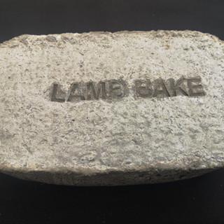 Lamb Bake Concrete 20cm x 25cm x 8cm £150