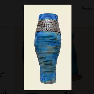 Najha Saleh Ancient Pot £950 Earthenware Clay, Glazed. H. 105cm