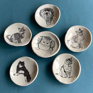 Gioilla Zordan porcelain teabag or trinkets holders  £ 9,