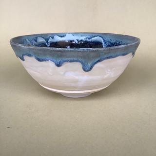 Gioilla Zordan thown Porcelain bowl  15x6 £ 40
