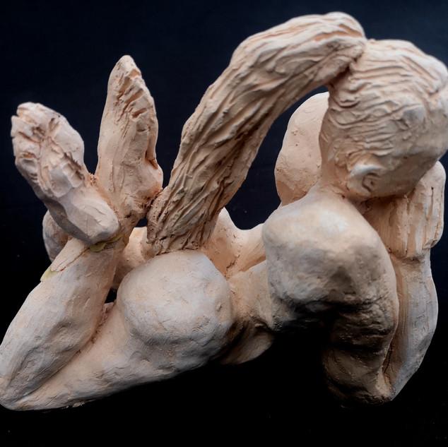 Figure Lying Ceramic £200