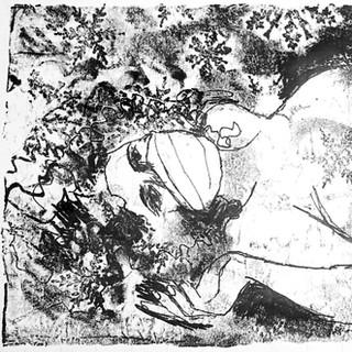 Figures Monoprint 40cm x 15cm £150