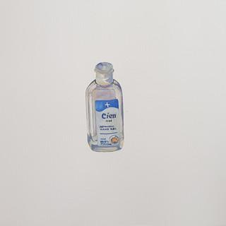 Sanitise 1 Gouache on paper