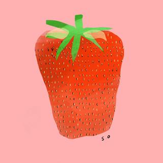 Strawberry Digital Print