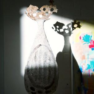 Ceramic sculpture by Nadine Fletcher