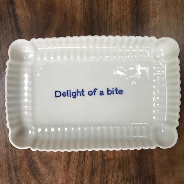 Biscuit dish Porcelain, £28