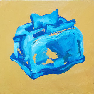 Toaster Oil on board (sold)