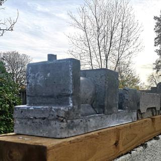 Isleworth Concrete Train Concrete 230cm x 20cm x 20cm £NFS