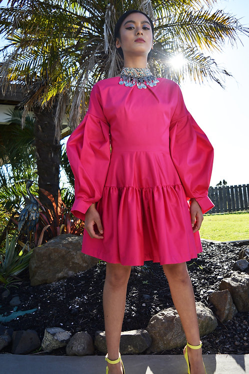 Mini Poet Dress