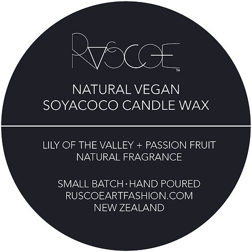 Candle - Lily of the Valley + Passion Fruit