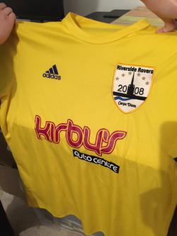 Football Kit Sponsor Print Service