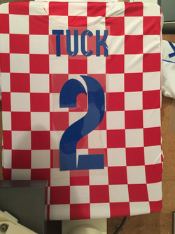 Football Kit Name Number Print