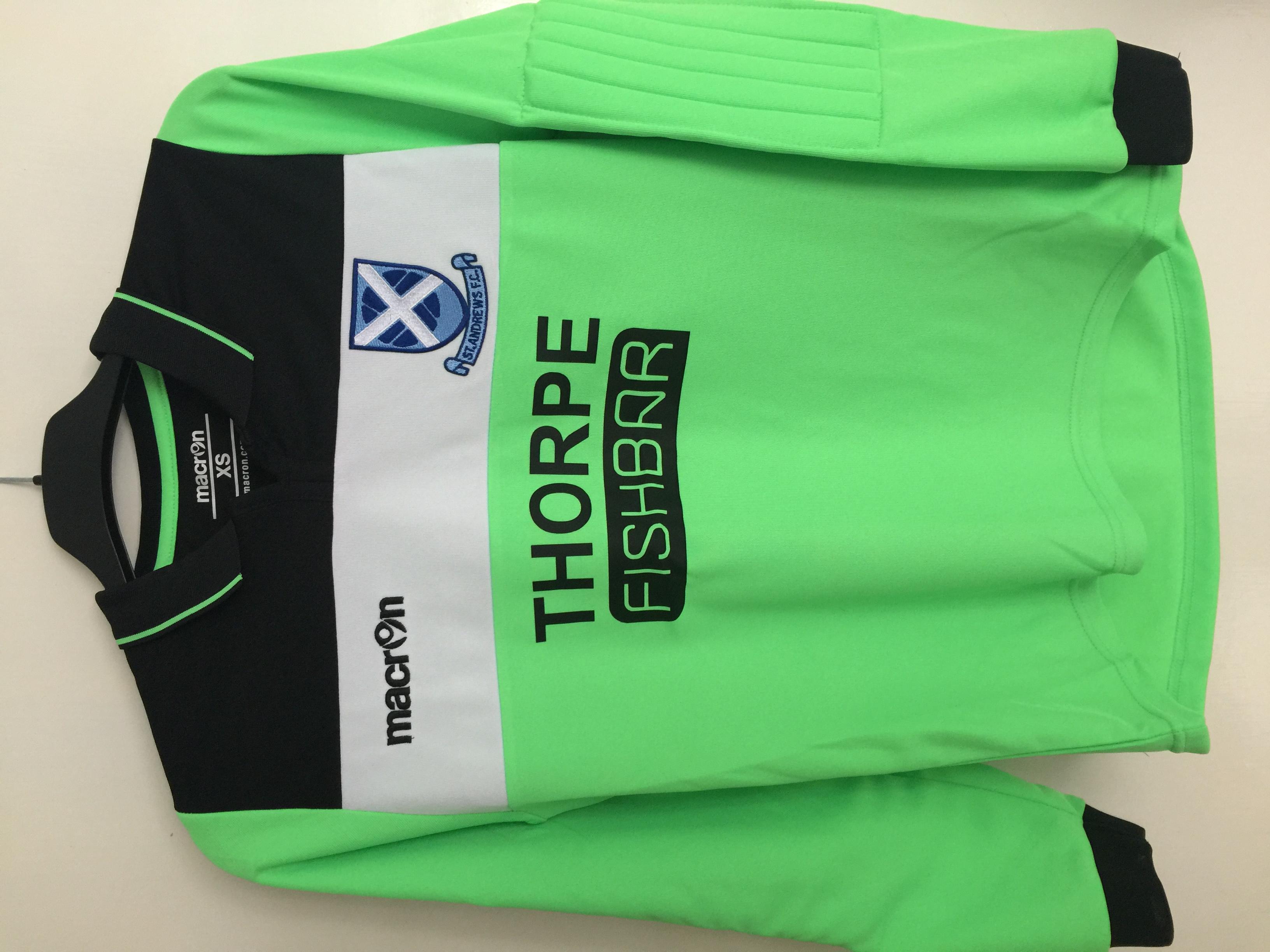 Goalkeeper Kit Printing Norwich Norf
