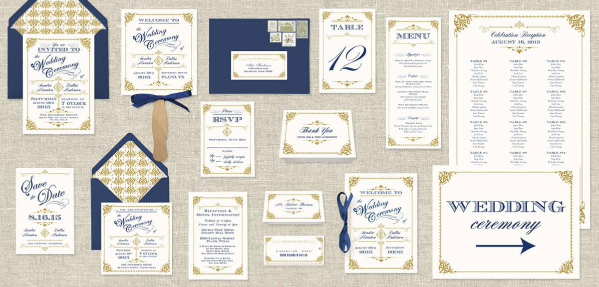 Wedding Stationary Printing Service