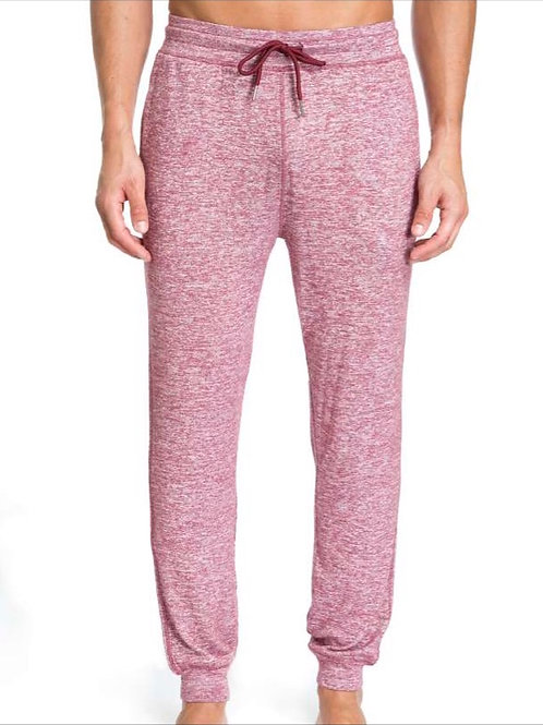 Heather Red Joggers