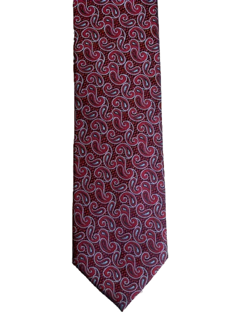 Small red paisley