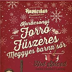Forró Fűszeres meggyes barna sör - Kapucinus sörfőzde