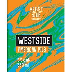 WestSide - American Pils - Yeastside Brewery