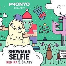 Snowman Selfie - Red IPA