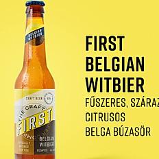 BELGIAN WITBIER - First brewing - Búzasör