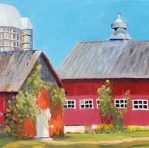Old Barns, Blue Skies