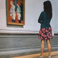 The Inspection Painting