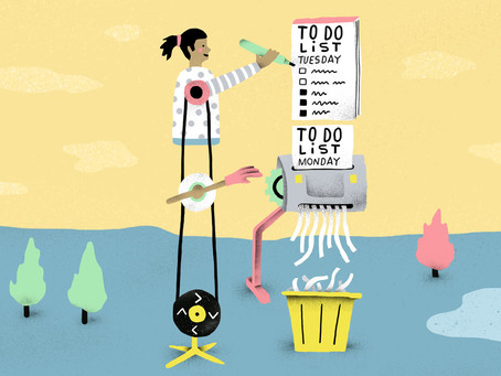The unproductive pressure to be productive