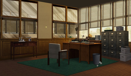 Cyril's Police Office in the Dreamland Event