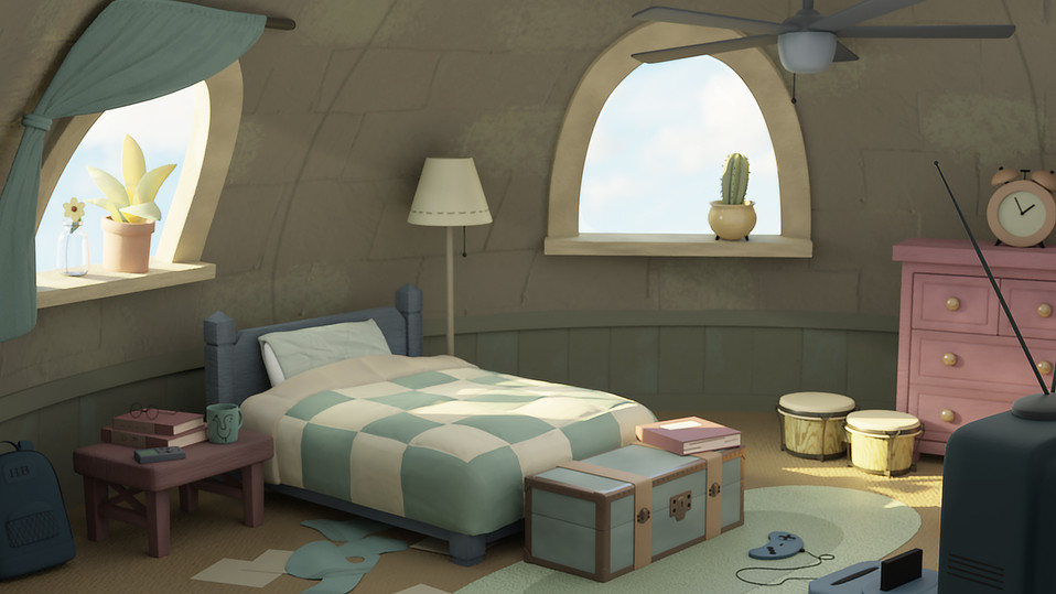 The Heaven Beetle's Room