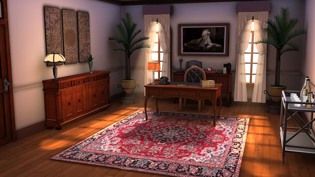 Malory's Office in Danger Island