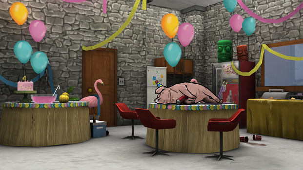 The Break Room in the Fourth-of-Juluau Event
