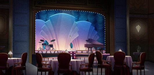The Club Stage in the Dreamland Event
