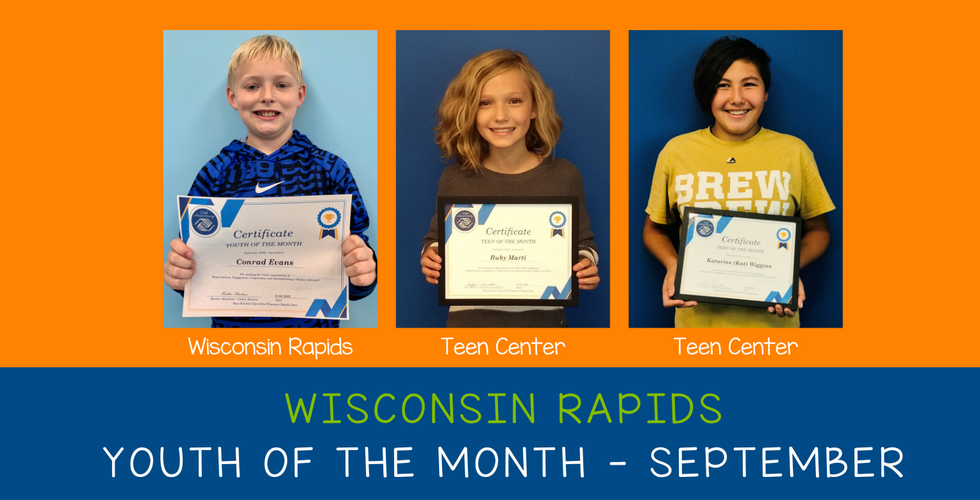 WR Youth of the Month