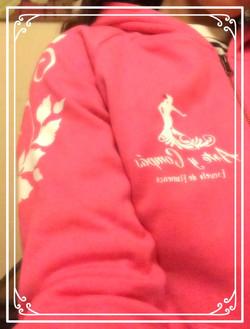 polerón rosado