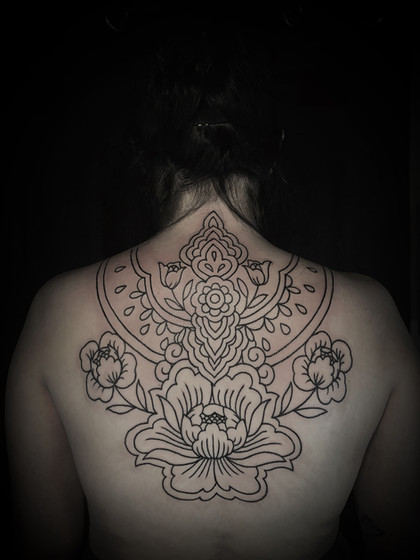 Ornate back piece for Ashley