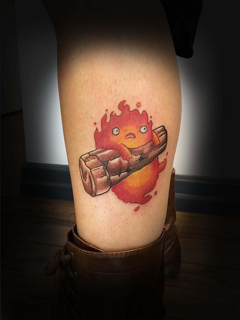 Calcifer on Jamie