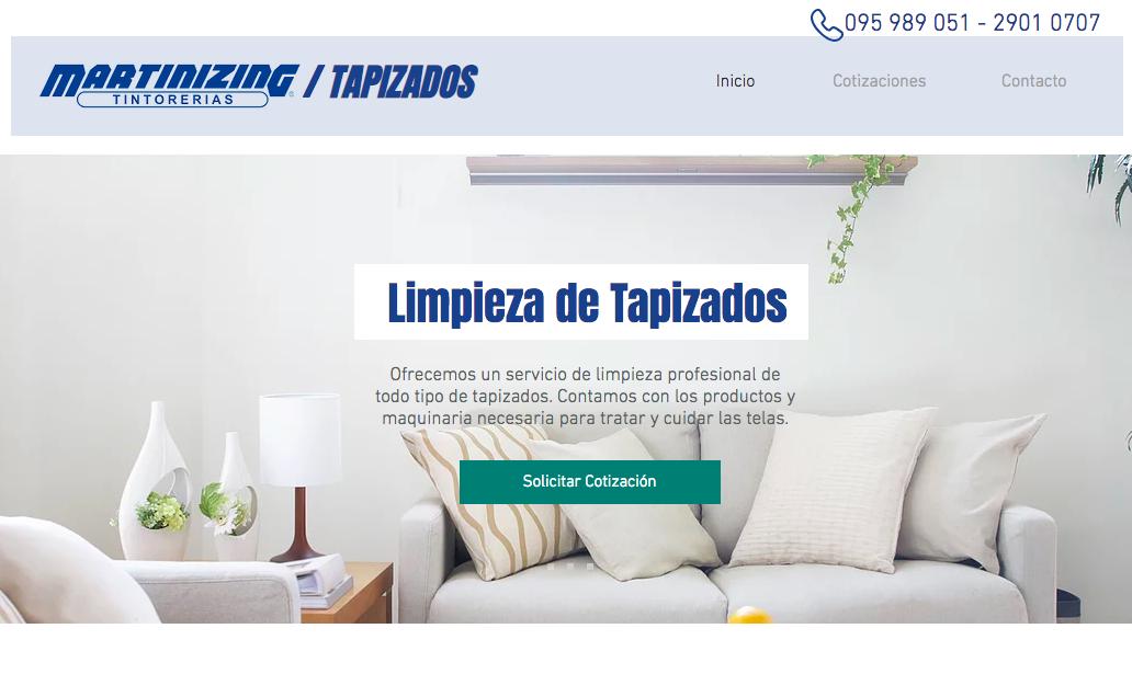 Sitio Web y Promociones