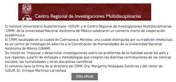 Centro Regional de Investigaciones Multidisciplinarias
