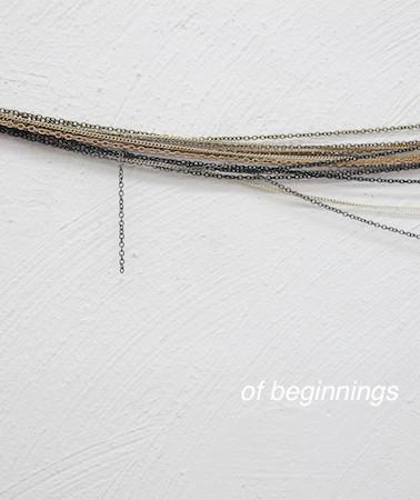 of beginnings