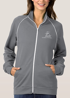 Flight Fitness Studio logo jacket