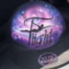 Flight Fitness Studio Logo baseball hat trucker cap