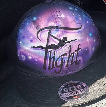 Flight Fitness Studio Logo baseball hat trucker cap