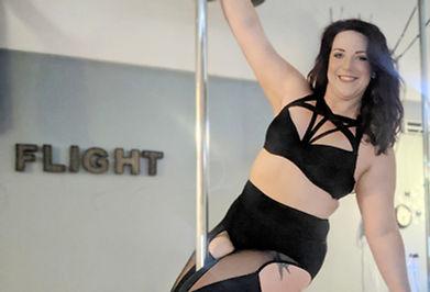 Erin Hedrington Flight Fitness Studio instructor pole dance fitness.jpg